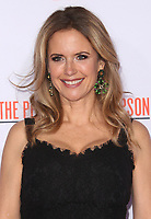"""12 July 2020 - Actress and wife of John Travolta Kelly Preston dead at age 57 from breast cancer.27 January 2016 - Westwood, California - Kelly Preston. """"American Crime Story - The People V. O.J. Simpson"""" Los Angeles Premiere held at Westwood Village Theatre. Photo Credit: Samie/AdMedia"""