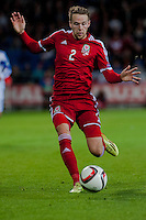 Wednesday 4th  December 2013 Pictured: Chris Gunter of Wales <br /> Re: UEFA European Championship Wales v Cyprus at the Cardiff City Stadium, Cardiff, Wales, UK