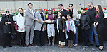 April 4, 2015: March with Irad Ortiz, Jr. holds of a hard charging Lord Nelson to win the 55th running of the Grade III Bay Shore Stakes for 3-year olds, going 7 furlongs at Aqueduct Racetrack. Trainer: Chad Brown . Owner: Robert LaPenta . Sue Kawczynski/ESW/CSM