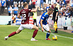 Arbroath v St Johnstone…15.08.21  Gayfield Park      Premier Sports Cup<br />Reece Devine and Scott Stewart<br />Picture by Graeme Hart.<br />Copyright Perthshire Picture Agency<br />Tel: 01738 623350  Mobile: 07990 594431