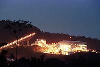 Cia. Vale do Rio Doce, Vista da esteira de rolagem e da moagem. Serra do Sossego<br />Canãa dos Carajás-Pará-Brasil<br />Foto: Paulo Santos/ Interfoto<br />Negativo 135 Nº 8502 T4 Fc 97 F10a