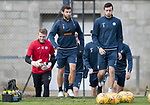 St Johnstone Training…22.09.17<br />Richie Foster and Joe Shaughnessy pictured during training ahead of tomorrow's game against Hamilton<br />Picture by Graeme Hart.<br />Copyright Perthshire Picture Agency<br />Tel: 01738 623350  Mobile: 07990 594431