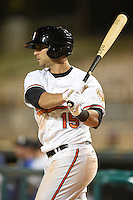 Glendale Desert Dogs infielder Jason Esposito (15) during an Arizona Fall League game against the Peoria Javelinas on October 13, 2014 at Camelback Ranch in Phoenix, Arizona.  The game ended in a tie, 2-2.  (Mike Janes/Four Seam Images)