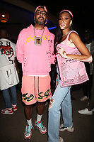 NEW YORK, NY - SEPTEMBER 11: Swizz Beatz and Winnie Harlow at BRIC Celebrate Brooklyn! Festival at The Lena Horne Bandshell in Prospect Park, Brooklyn, New York City on September 11, 2021. <br /> CAP/MPI/WG<br /> ©WG/MPI/Capital Pictures