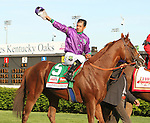 May 3, 2014: California CHrome with Victor Espinoza dominate in the $2,000,000 Grade 1 Kentucky Derby Presented by Yum! Brands, for 3-year olds, going 1 1/4 at Churchill Downs. Trainer: Art Sherman. Owner: Steven Coburn and Perry Martin. Sue Kawczynski/ESW/CSM