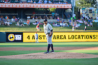 Tacoma Rainiers pitcher Erasmo Ramirez (30) is set to pitch during pacific coast league baseball game, Saturday August 16, 2014 in Round Rock, Tex. Tacoma Rainiers win game one of the best of four series 8-7. (Mo Khursheed/TFV Media via AP Images)