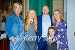 Grace Cooper former student of Nagle Rice NS receiving her Confirmation on Monday with her family Geraldine Murphy, Grace, Mike, Eve and Mary T Cooper.