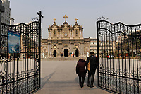 CHINA Province Shaanxi, Xian, catholic cathedral / CHINA Provinz Shaanxi , Xian, katholische Kathedrale