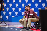 STANFORD, CA - March 7, 2020: Head Coach Neil Erisman of Little Rock during the 2020 Pac-12 Wrestling Championships at Maples Pavilion.