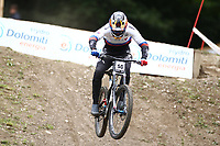 29th August 2021; Commezzadura, Trentino, Italy; 2021 Mountain Bike Cycling World Championships, Val di Sole; Downhill; Downhill final men, Rastislav Baranek (SVK)