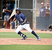 Xavier Edwards - San Diego Padres 2019 spring training (Bill Mitchell)