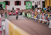 Anthony Turgis (FRA/Cofidis) rolling out<br /> <br /> Stage 20 (ITT): Saint-Pée-sur-Nivelle >  Espelette (31km)<br /> <br /> 105th Tour de France 2018<br /> ©kramon
