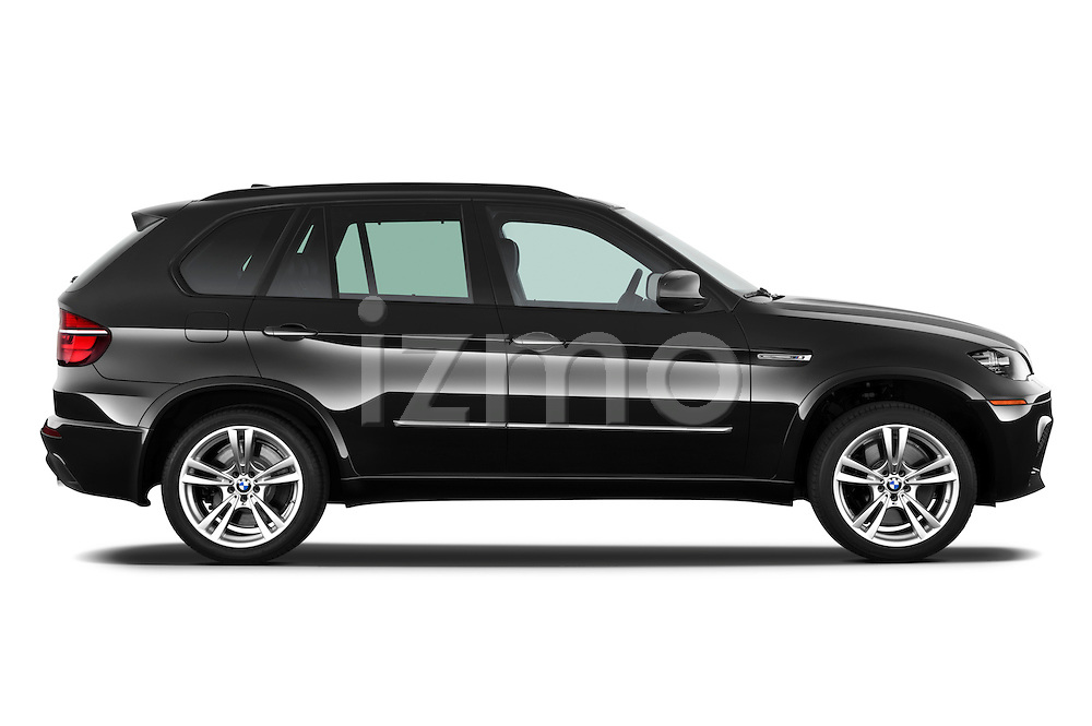Passenger side profile view of a 2013 BMW X5 M.