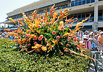 Scenes from around the track during Florida Derby Day on April 3, 2011 at Gulfstream Park in Hallandale Beach, Florida.  (Bob Mayberger/Eclipse Sportswire)