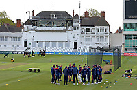 Essex team huddle prior to  Nottinghamshire CCC vs Essex CCC, LV Insurance County Championship Group 1 Cricket at Trent Bridge on 7th May 2021