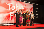 Movie, Alifu the Princess appears on the opening red carpet for The 30th Tokyo International Film Festival in Roppongi on October 25th, 2017, in Tokyo, Japan. The festival runs from October 25th to November 3rd at venues in Tokyo. (Photo by Michael Steinebach/AFLO)