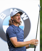 Tommy Fleetwood (England) during Practice Day at BMW PGA Championship Wentworth Golf at Wentworth Drive, Virginia Water, England on 22 May 2018. Photo by Andy Rowland.