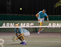 Rotterdam, The Netherlands, 3 march  2021, ABNAMRO World Tennis Tournament, Ahoy, First round doubles: Juan Sebastian Cabal (COL) / Robert Farah (COL).<br /> Photo: www.tennisimages.com/
