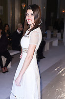Natalie Anderson<br /> at the Jasper Conran AW17 show as part of London Fashion Week AW17 at Claridges, London.<br /> <br /> <br /> ©Ash Knotek  D3230  17/02/2017