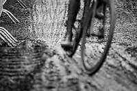 muddy track<br /> <br /> Elite Men's Race<br /> UCI 2017 Cyclocross World Championships<br /> <br /> january 2017, Bieles/Luxemburg