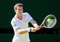 23-6-09, England, London, Wimbledon, Andy Murray