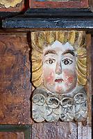 Kanzel in der Kirche (13./14. Jh.) in Lärbro auf der Insel Gotland, Schweden, Europa<br /> pulpit Church (13./14.c.) in Lärbro, Isle of Gotland Sweden