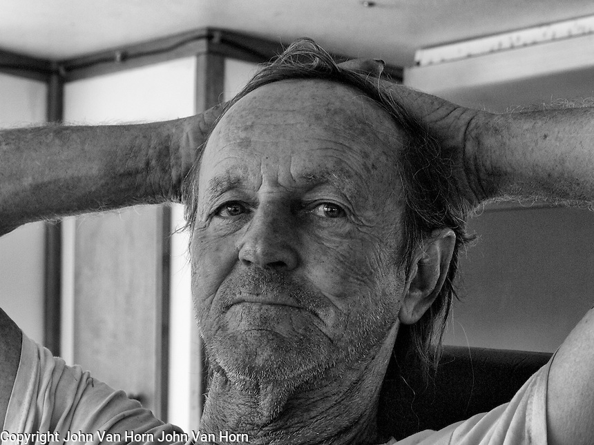 Cowboy, is actually a shrimper, working on the shrimp boats in the Florida Keys.