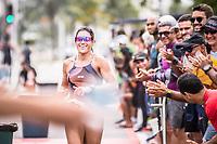 Vitória (ES), 08/03/2020 - Campeonato Capixaba de Triathlon 1ª Etapa - Hellen Fante Campeã na categoria Principal, na abertura do capixaba de triathlon 2020 realizado na praia de camburi na capital capixaba.
