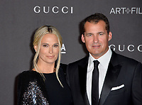 LOS ANGELES, USA. November 03, 2019: Molly Sims & Scott Stuber at the LACMA 2019 Art+Film Gala at the LA County Museum of Art.<br /> Picture: Paul Smith/Featureflash