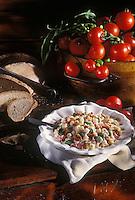 """Europe/Italie/Val d'Aoste/Cogne : Pâtes aux fèves et à la fontine - Recette du restaurant """"Bellevue"""""""