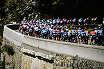 The peloton during Stage 6 of Tour de France 2020, running 191km from Le Teil to Mont Aigoual, France. 3rd September 2020.<br /> Picture: ASO/Pauline Ballet   Cyclefile<br /> All photos usage must carry mandatory copyright credit (© Cyclefile   ASO/Pauline Ballet)