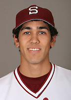 STANFORD, CA - JANUARY 7:  Jeffrey Inman of the Stanford Cardinal baseball team poses for a headshot on January 7, 2009 in Stanford, California.