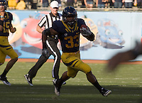 October 22th, 2011:  Covaughn Deboskie-Johnson of California rushes down the field during a game against Utah at AT&T Park in San Francisco, Ca  -  California defeated Utah 34 - 10