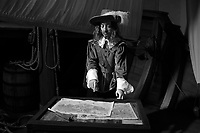 """FILE IMAGE - Samuel Champlain ( 1574 - 1635) The Father of New France"""", was a French navigator, cartographer, draughtsman, soldier, explorer, geographer, ethnologist, diplomat, and chronicler."""