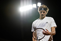 2nd October 2020, Roland Garros, Paris, France; French Open tennis, Roland Garros 2020;  Alexander Zverev of Germany reacts during the mens singles third round match against Marco Cecchinato of Italy