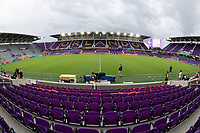Orlando, FL - Wednesday July 31, 2019: Exploria Stadium prior to the Major League Soccer (MLS) All-Star match between the MLS All-Stars and Atletico Madrid at Exploria Stadium.
