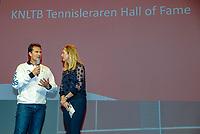 Nieuwegein,  Netherlands, 9 November 2018, Coaches congress KNLTB, Kristy Boogert and Jacco Eltingh<br /> Photo: Tennisimages.com/Henk Koster
