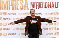 """20131015 ROMA-SPETTACOLI: PHOTOCALL PER IL FILM DI ROCCO PAPALEO """"UNA PICCOLA IMPRESA MERIDIONALE"""""""