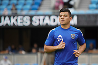 SAN JOSE, CA - MARCH 7: Nick Lima #24 of the San Jose Earthquakes during a game between Minnesota United FC and San Jose Earthquakes at Earthquakes Stadium on March 7, 2020 in San Jose, California.