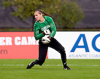 Ashlyn Harris. UNC defeated Maryland, 1-0, during the regular season finale at College Park, Maryland.