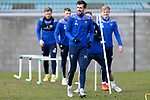 St Johnstone Training... 05.03.21<br />Callum Booth pictured during training at McDiarmid Park this morning...<br />Picture by Graeme Hart.<br />Copyright Perthshire Picture Agency<br />Tel: 01738 623350  Mobile: 07990 594431