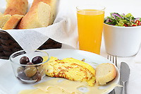 Breakfast, Food, Bread, Orange Juice, Drink, Eggs