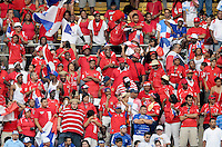 Panama fan.  Panama defeated El Salvador in penalty kicks 5-3 in the quaterfinals for the 2011 CONCACAF Gold Cup , at RFK Stadium, Sunday June 19, 2011.