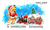 GIORDANO, CHRISTMAS ANIMALS, WEIHNACHTEN TIERE, NAVIDAD ANIMALES, Teddies, paintings+++++,USGI2389,#XA#