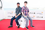 "The directors of the film, Jeremy Gillespie and Steven Kostanski pose to the media during the presentation of the film ""The Void"" at the Festival de Cine Fantastico de Sitges in Barcelona. October 08, Spain. 2016. (ALTERPHOTOS/BorjaB.Hojas)"