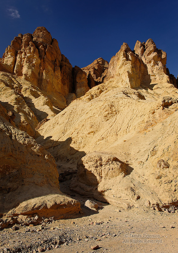 North Wall of Golden Canyon, Death Valley, California