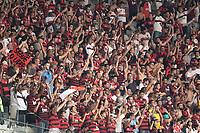 BELO HORIZONTE/MG - 20.09.19, CRUZEIRO X FLAMENGO - Torcida do Flamengo durante partida entre Cruzeiro e Flamengo, válida pela 20a rodada do Campeonato Brasileiro 2019, no Estadio Mineirão, Belo Horizonte, MG, neste sábado (21).(Foto Giazi Cavalcante/Codigo19)
