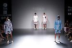 04.09.2012. Models walk the runway in the Ruizgalan fashion show during the EGO Mercedes-Benz Fashion Week Madrid Spring/Summer 2013 at Ifema. (Alterphotos/Marta Gonzalez)