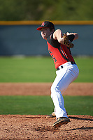 Adie Goodman (5) of Lamar School in Meridian, Mississippi during the Baseball Factory All-America Pre-Season Tournament, powered by Under Armour, on January 14, 2018 at Sloan Park Complex in Mesa, Arizona.  (Art Foxall/Four Seam Images)