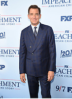 """WEST HOLLYWOOD - SEPT 1: Clive Owens attends a red carpet event for FX's """"Impeachment: American Crime Story"""" at Pacific Design Center on September 1, 2021 in West Hollywood, California. (Photo by Frank Micelotta/FX/PictureGroup)"""